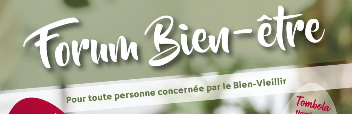 Forum Santé Bien-Être